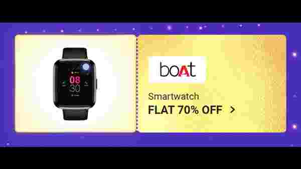 Flat 70% Off On Boat Smart Watches